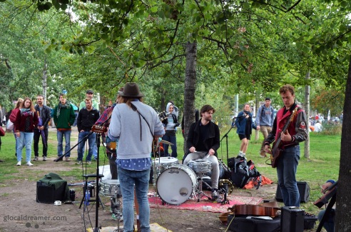 Photo taken by Glocal Dreamer in Mauerpark, Berlin 09/2015